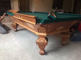 Antique Brunswick Pool Tables by Brunswick Antique Brilliant Novelty Las Vegas Pool Table