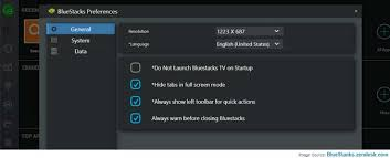 bluestacks settings how to setup preferences on bluestacks bluestacks