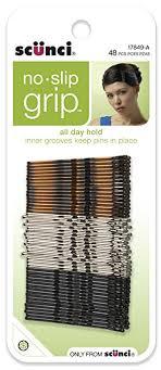 best bobby pins scunci no slip grip bobby pins 48 count hair pins