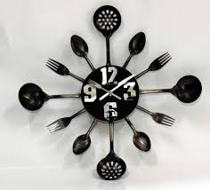 decorating funky wall clocks