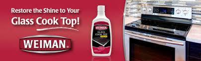 Rejuvenate Cooktop Cleaner Weiman Glass Cook Top Heavy Duty Cleaner U0026 Polish 10oz Target