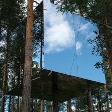 invisible tree house hotel to design ideas