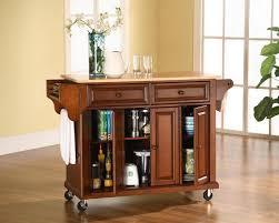 kitchen island microwave cart with hutch kitchen carts lowes