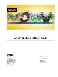 ansys meshing users guide pdf trademark computational fluid