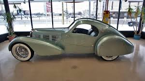 1930s phantom car 1935 bugatti aerolithe re creation completed lost magnesium