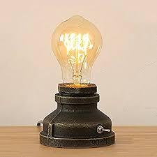 Filament Bulb Desk Lamp Industrial Explosion Proof Desk Lamp Steampunk Light 62