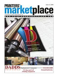 printers u0027 marketplace june 9th 2009 issue printing printer