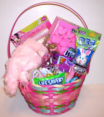filled easter baskets easter basket filled with candy and toys