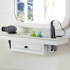Portable Hair And Makeup Stations Best 25 Hair Dryer Storage Ideas On Pinterest Hair Dryer Holder
