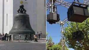 sound from world u0027s largest bell from russia replicated at uc