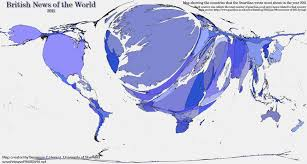Uk World Map by British News Of The World 2011 Views Of The World
