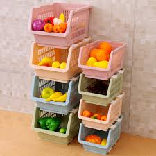 Basket Storage Shelves by Compare Prices On Stacking Plastic Baskets Online Shopping Buy