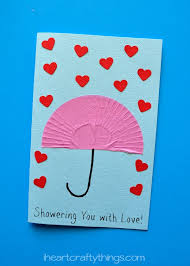 same day s day gifts showering you with s day card i heart crafty things