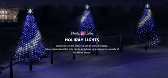 made with code holiday lights project popsugar tech