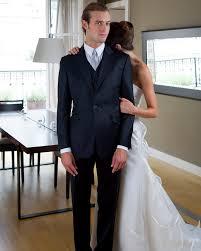 costume bleu marine mariage costume de mariage 3 pièces noir satin de