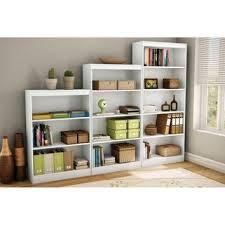 Mainstays 3 Shelf Bookcase Shop Rustic Bookcases On Wanelo