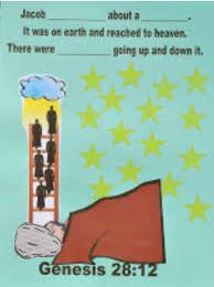 bible fun for kids genesis jacob u0027s ladder