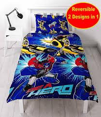 Rapunzel Duvet Cover Transformers Hero Single Rotary Duvet Stamp Kids Quilt Cover