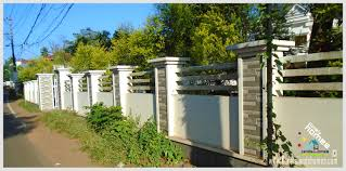 Home Parapet Designs Kerala Style by Compound Wall Designs In Kerala Newsdigestng Com