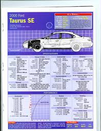 need stopping distance time information taurus car club of