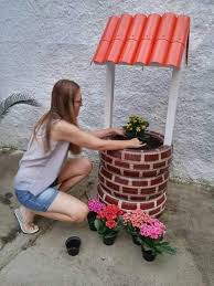 How To Use Old Tires For Decorating Wishing Well Garden Art Creative Ways To Add Color And Joy To A