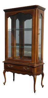 display china cabinets furniture vintage french provincial display china cabinet by hammary french