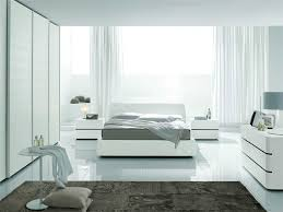 modern white bedroom home design inspirations
