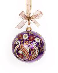 blown glass ornament horchow