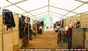 indoor horse arena covered riding building shelter structures