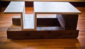 concrete wood table top concrete projects the guild of austin artisans