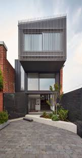 Metal House Designs Julie Firkin Architects Design A Contemporary Brick And Metal