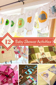 baby shower activity ideas great baby shower activities design dazzle