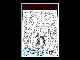 how to draw a fairy house coloring page easy drawing lessons for