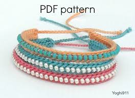 bead bracelet crochet images Collection of crochet bracelets with beads fashion trend jpg