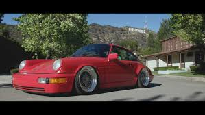 stanced porsche 911 dapper porsche 964 in los angeles mike k youtube