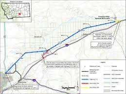 Montana Road Conditions Map by Old Highway 312 Corridor Study Overview