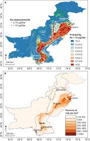 Map Of Indus River Over 60m Pakistanis At Risk Of Arsenic Poisoning From Contaminated