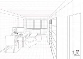 how to draw living room sketch aecagra org