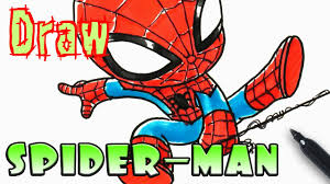 how to draw spider man coloring pages youtube