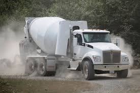kenworth concrete truck test drive kenworth s natural gas t880s impresses even off road
