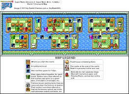 Super Mario World Map by Super Mario Advance 4 Super Mario Bros 3 World 7 Overworld Map