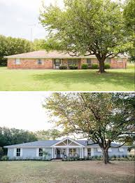 Ranch House Front Porch by Remodeled Ranch Homes Before And After Before And After Exterior