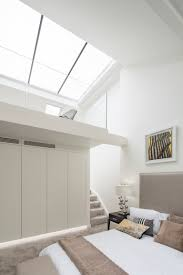Skylight Design by Mater Bedroom With Mezzanine And Large Skylight Double Height