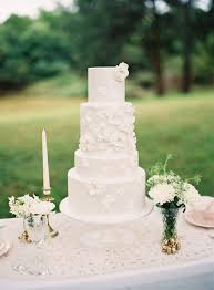 5 beautiful spring wedding cake ideas white chic vintage