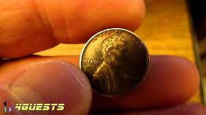 1944 lincoln penny copper not steel one cent coin youtube