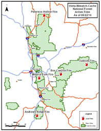 Wildfire Map Utah by Uinta Wasatch Cache National Forest News U0026 Events