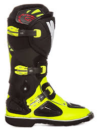 yellow motocross boots sidi kids mx boots stinger yellow fluo black 2017 maciag offroad