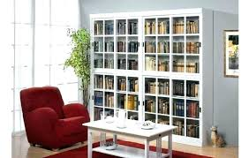 walmart bookcase with glass doors medium size of bookcase target