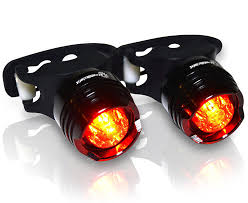 brightest bicycle tail light amazon com stupidbright sbr 1 strap on led rear bike tail light