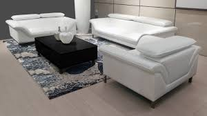 canap 3 2 cuir salon tanaro canapé 3 places 2 places fauteuil mobilier moss